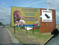 No A La Pirotecnia En Daireaux