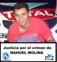 Para Pedir Justicia Por El Crimen De Nahuel Molina , Que Se Encuentre Y Se Condene A Los Culpables
