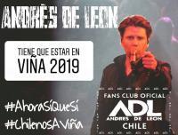 Andres De Leon En El Festival De Viña 2019