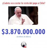 Para Que El Papa Se Costee él Mismo Su Venida A Chile